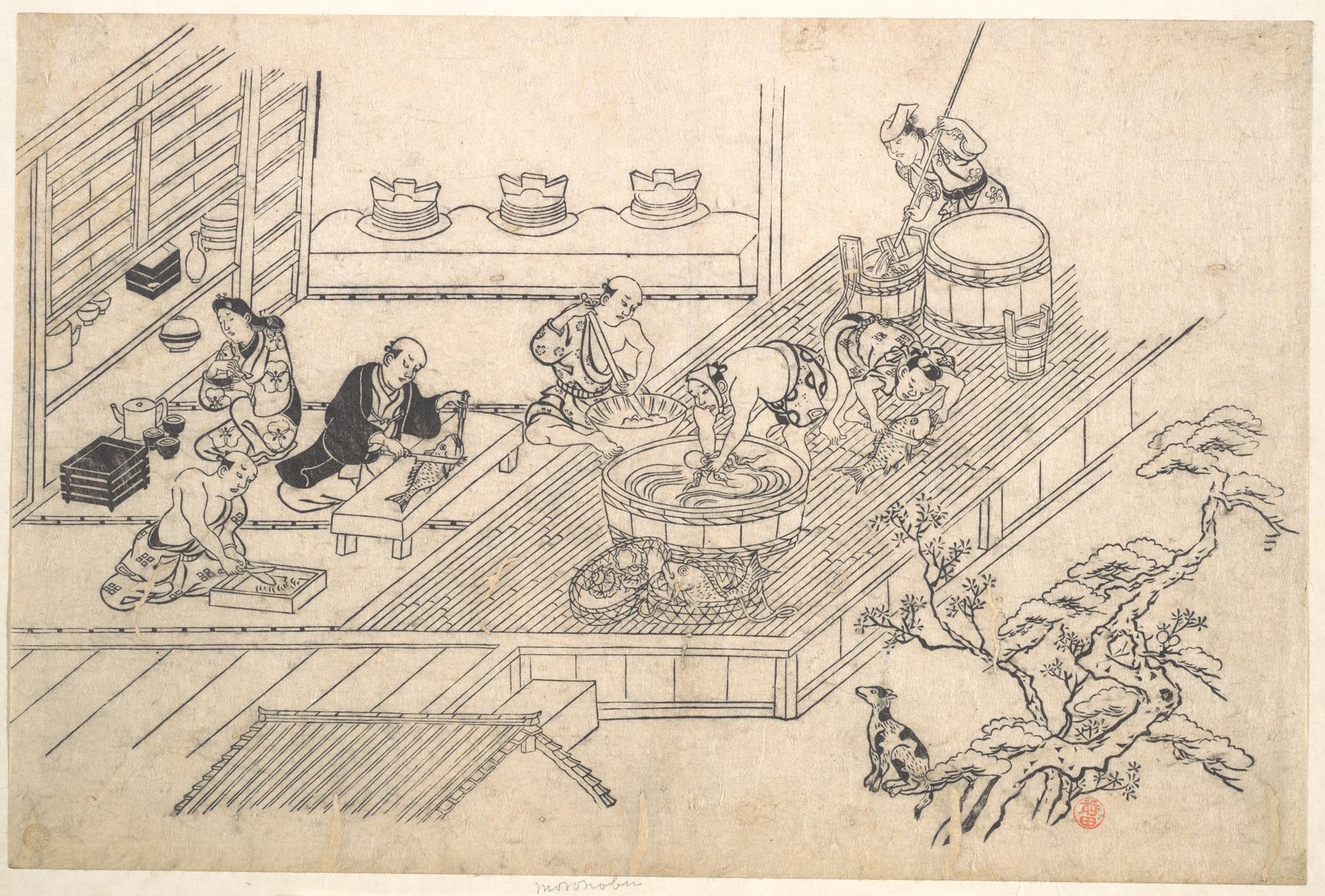 Hishikawa-Monorobu-hajimenoukiyoe