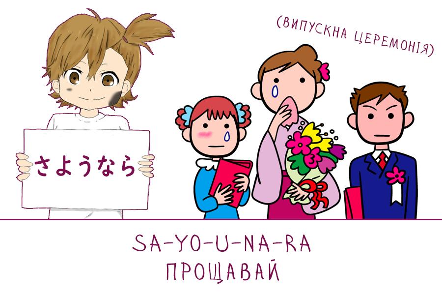 sayounara